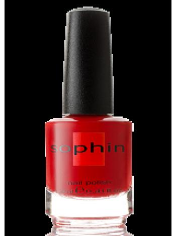 Красный лак для ногтей Sophin