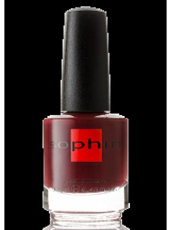 Тёмно-вишнёвый лак для ногтей Sophin