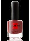 Тёмный бежево-лиловый лак для ногтей Sophin