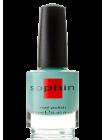 Яркий мятно-бирюзовый лак для ногтей Sophin