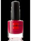 Малиново-красный лак для ногтей Sophin