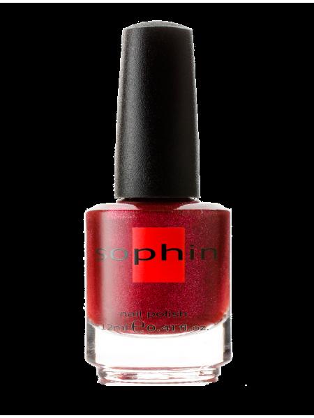 Лак Sophin №0102 (розово-бордовый)
