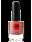 Розовый перламутровый полупрозрачный лак для ногтей Sophin