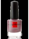 Коричнево-розово-лиловый перламутровый лак для ногтей Sophin с медным шиммером