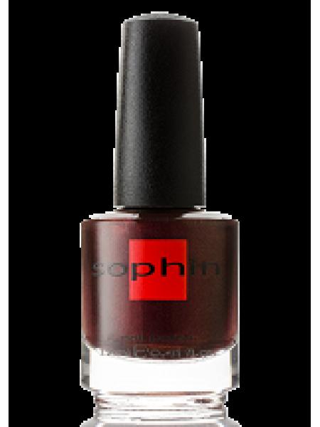 Лак Sophin №0153 (тёмный коричнево-бордовый)