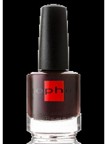 Бурый перламутровый лак для ногтей Sophin