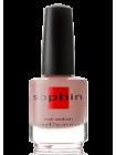 Бежево-коричневый лак для ногтей Sophin с шиммером