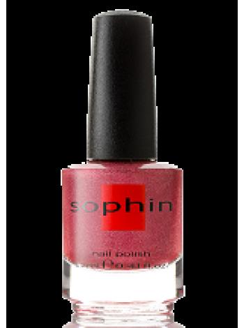 Кораллово-розовый лак для ногтей Sophin