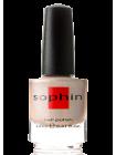 Холодный бежево-золотой лак для ногтей Sophin с голографическим эффектом