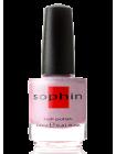 Светлый сиренево-розовый лак для ногтей Sophin с голографическим эффектом