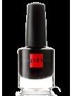 Чёрный лак для ногтей Sophin с глиттерными палочками
