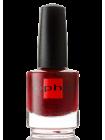 Насыщенный красный лак для ногтей Sophin с частицами слюды