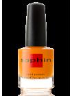 Неоновый оранжевый лак для ногтей Sophin
