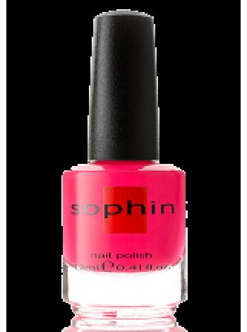 Неоновый розовый лак для ногтей Sophin