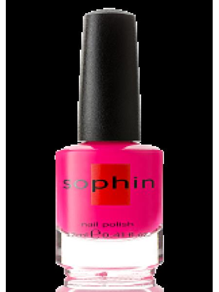 Лак Sophin №0234 (холодный розовый неон)