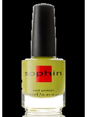 Салатово-оливковый лак для ногтей Sophin