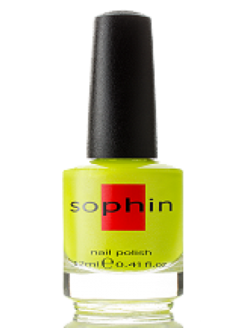 Лаймовый неоновый лак для ногтей Sophin