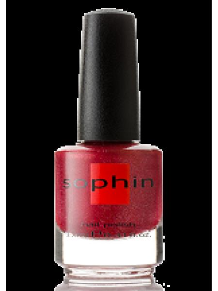 Лак Sophin №0296 (тёмно-красный)