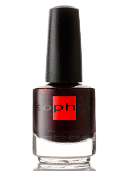 Лак Sophin №0313 (Бордово-фиолетовый)