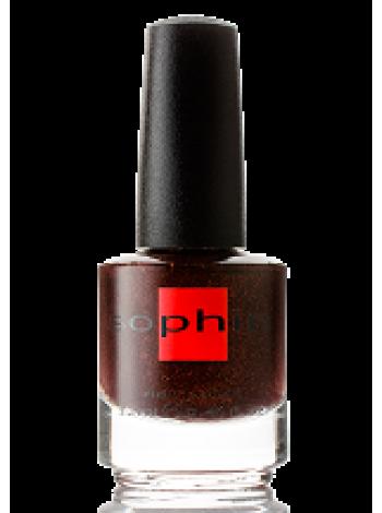 Лак Sophin №0314 (Тёмно-бордовый)
