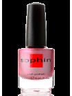Лак Sophin №0319 (красно-розовый металлик)