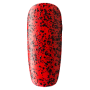 0324 (красный с чёрным глиттером)
