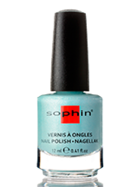 Лак Sophin №0363 (бирюзовый с шиммером)