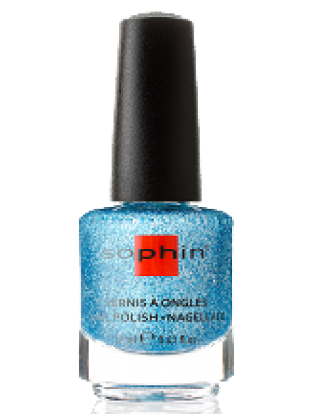 Лак Sophin №0375 (голубой голографик)