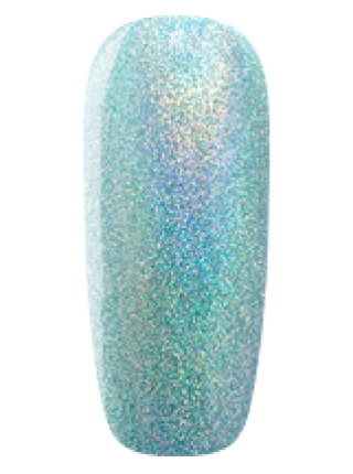 Лак Sophin №0376 (мятный голографик)
