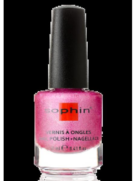 Лак Sophin №0377 (розовый голографик)